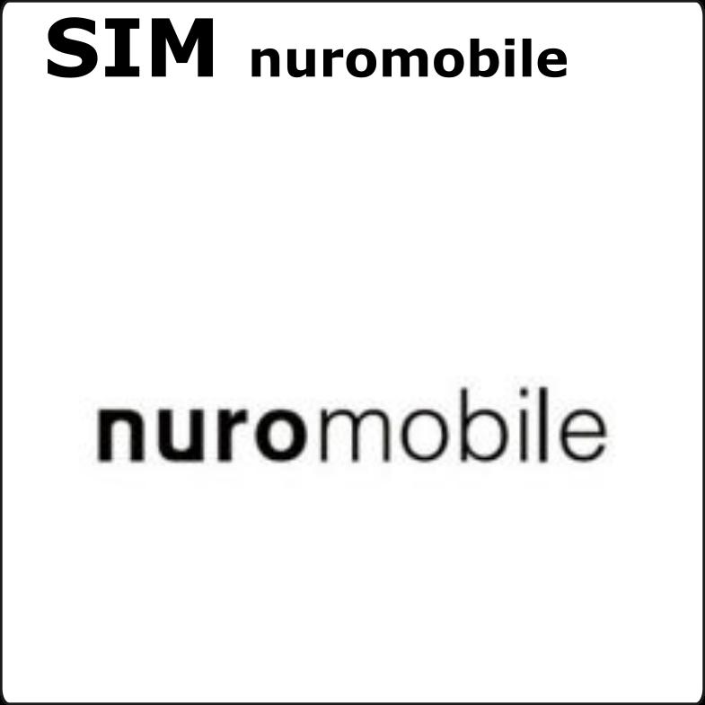 SIM nuromobile